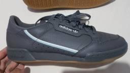 Título do anúncio: V/T Tenis Novo Original: Adidas Continental 80, Tam. 43 com nota fiscal