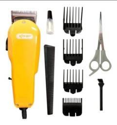 Título do anúncio: Máquina de cortar cabelo knup QR-8918
