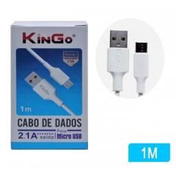 Cabo Dados e Cargamento  Micro Usb V8 Kingo