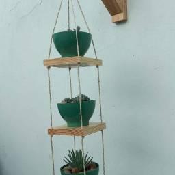 Título do anúncio: Floreira de madeira, jardim vertical