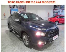 Título do anúncio: Toro Rach 4X4 Die 2.0 Aut  mod 2021 U. Dono Gar Fabrica