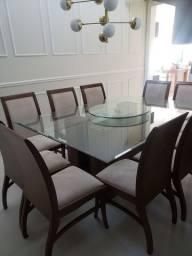 Mesa de jantar com 10 lugares