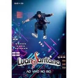 Título do anúncio: CD + DVD Luan Santana Ao vivo no Rio com todos os encartes 100% Original Lacrado