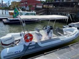 Título do anúncio: Bote inflável Gamper motor 150hp