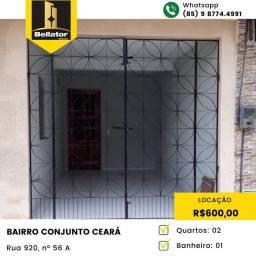 Título do anúncio: Casa para aluguel com 2 quartos em Conjunto Ceará II - Fortaleza - CE