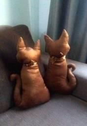 Gato e Gata - Dupla de almofadas