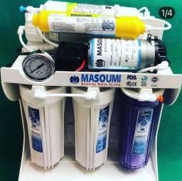Purificado de agua com 6 filtros importada tope #1