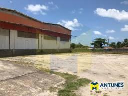 GA-0458 - Alugue galpão Pontezinha (Cabo), com 2.300 m² possui doca e pátio