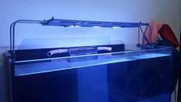Luminária Maxspect Razor 180w aquário marinho