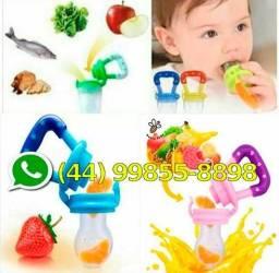 Promoção RS 20,00 Chupetinha alimentadora alimentos frutas para bebês chupeta infantil
