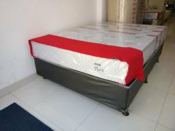Oferta da Semana - Conj.Box Molas Verticoil Casal Reconflex - 10x Sem Juros