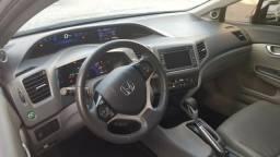 Honda Civic automático - completo - dono único - teto solar - apenas 41 mil km rodados - 2012