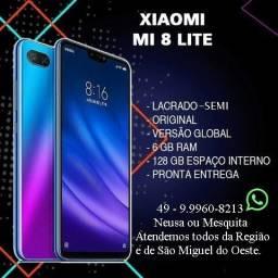 "Xiaomi MI 8 Lite-128GB-6GB Ram - Azul - 6""26 - 10X S/Juros"