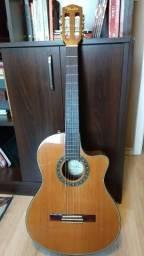 Violão Elétrico Nylon Fender CN-240 SCE Classical