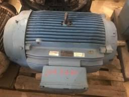 Motor elétrico WEG de 175 CV, 1.780 RPM estado de novo