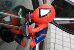 Homem Aranha Com Ventosas Para Fixar Em Vidros Marvel Super Herói