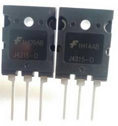 J4215 e J4315 Original 1 Par Transistor Original