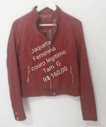Jaqueta de couro comprar usado  Bragança Paulista
