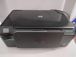 Kit: Impressora HP, Monitor Samsung, Escrivaninha