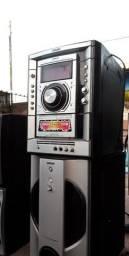 Vendo aparelho + 5 caixas de som sony COMPLETOS