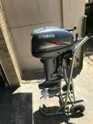 Motor de popa yamaha 15 hp - 2014