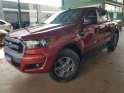 Ranger xls 2.2 diesel 4x4 automatica 4portas vermelha 2017/2018 completa - 2018