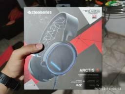 Fone gamer headset arctis 5