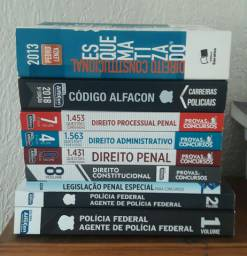 Combo livros CONCURSO POLÍCIA FEDERAL