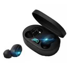 Fone Ouvido Digital True Esporte Bluetooth 5.0 E6s Tws Pronta Entrega Garantia