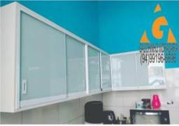 Cozinha em vidro temperado comprar usado  Marabá