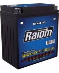 Bateria Raiom Rtx6l-bs - Honda Yamaha 125