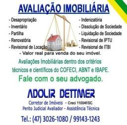 Avaliação Imobiliária em Joinville e região