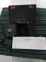 Tv box Yourotec TX9 padrão 4K 16GB preto com memória RAM de 2GB