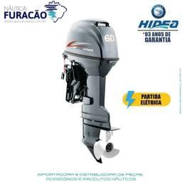 Motor de Popa Hidea 60 FFel-t 2T Comando a distancia e partida elétrica