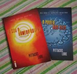 Livros - Eu sou o número quatro & O poder dos seis