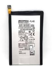 Bateria Motorola FL40 Moto X Play 3425mah Nova e Original