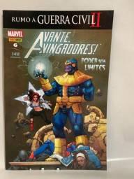 Hq Avante Vingadores - Poder sem Limites N°06