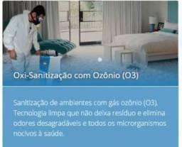 Oxisanitização Ozônio Sanitização