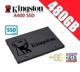 Título do anúncio: SSD 480GB A400 - Kingston - Loja Coimbra Computadores