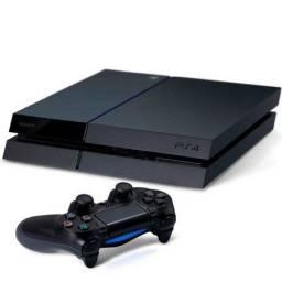Título do anúncio: Playstation 4 + 2 Controles + 3 Jogos