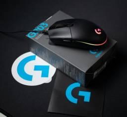 Mouse Gamer Logitech G203 RGB Lightsync