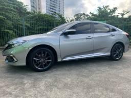 Título do anúncio: Honda Civic EX 2020 , Novíssimo !!( Todo original )Baixei o Preço !!!
