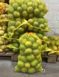 Laranja Lima,aipim,palmito,limão,banana