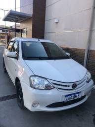 Etios 1.5 XS 2014 completo + GNV