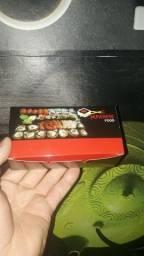 Título do anúncio: 100 embalagem sushi 10 peças