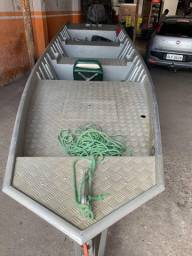 Barco alumínio Motor 15hp