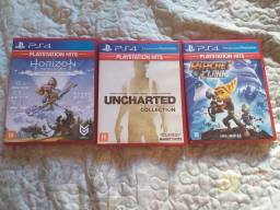 Jogos PS4 mídia física seminovos