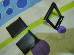 Suporte preto celular dobravel 25 reais