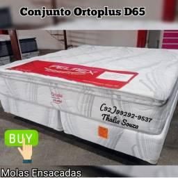 Título do anúncio: Cama Queen a Vácuo D-65/Mola ensacadas/Pillow top..+++*frete grátis Manaus