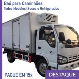 Título do anúncio: Baú Seco Baú Refrigerado para Caminhão novo/seminovo Modelo: GH 207